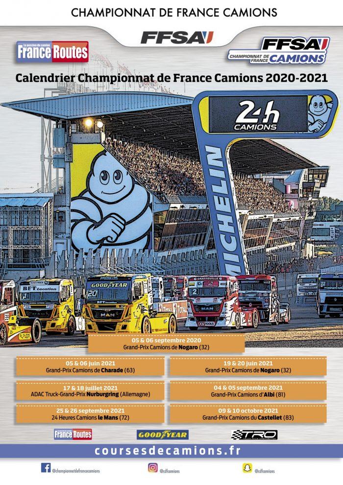 Calendrier des GP du Championnat de France 2021   Team ARAVI Racing